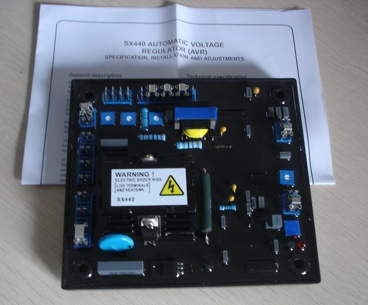High Quality Black Automatic Voltage Regulator AVR SX440 For Generator high quality generator automatic voltage regulator avr as440
