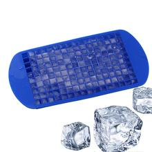 160 Grids Mini Ice Cube Frozen Mold Silicone Trays Cold Drink Helper цена