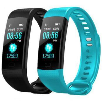 Купить на aliexpress Новый Y5 Smart ремешок, смарт-браслет часы с функцией измерения пульса активности Фитнес трекер умный Браслет VS Xiaomi Mi группа 3 Vs honor группа 4