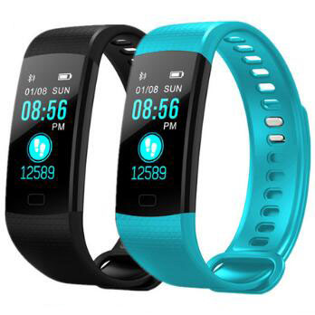 IP68 Waterproof V66 Bluetooth Smartband Pedometer Sleep Heart Rate Monitor Smart Wristband Fitness Bracelet for IOS AndroidPhone y5 goral