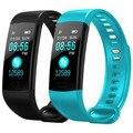 Nowy Y5 inteligentny zespół inteligentne nadgarstek tętno zegarki monitor aktywności fizycznej inteligentna bransoletka VS Xiao mi mi Band 4 Vs honor zespół 4