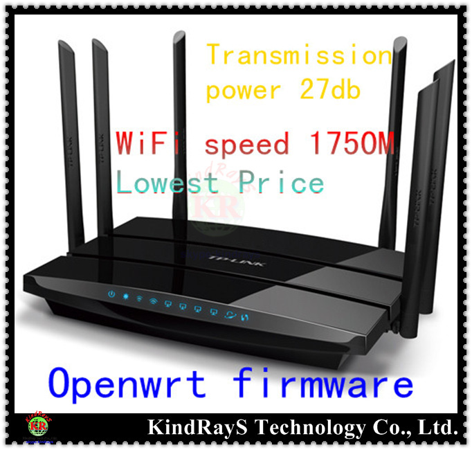 все цены на  tp-link english russian firmware WDR7500 AC1750 11ac wifi 2.4GHz 5GHz Wireless Router Gigabit  Dual Band WIFI Repeater roteador  онлайн