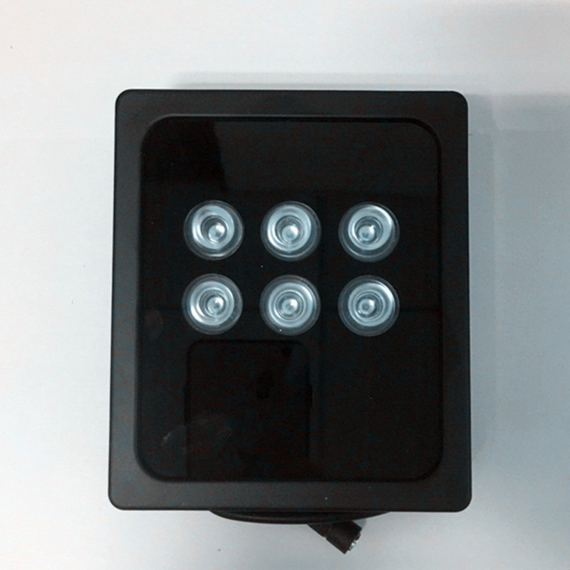 IR Spotlight infrared Light 6 LED high power Array 850nm IR light For CCTV camera fill light IP66