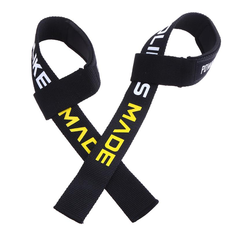 купить AOLIKES 1 Pair Weightlifting Wristband Sport Professional Training Hand Bands Wrist Support Straps Wraps Guards For Gym Fitness по цене 269.09 рублей