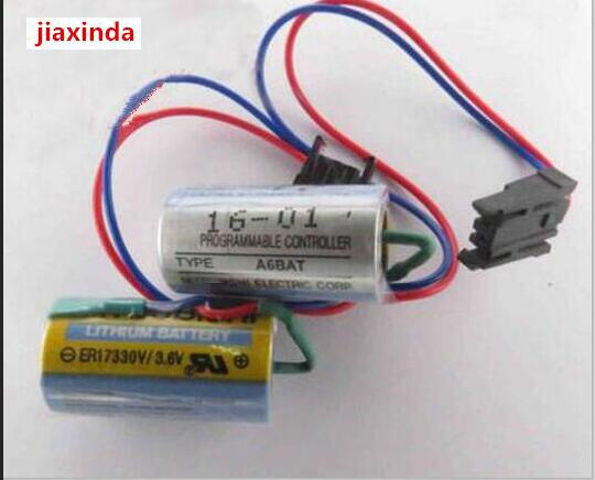 jiaxinda NEW ER17330V 3 6V ER17330V 3 6V MR BAT A6BAT lithium battery TYPE MRBAT Li