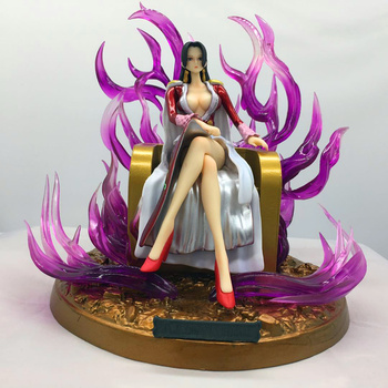 18CM ONE PIECE Boa Hancock Empress Action Figure PVC Statue Ver Model Decoration Toy with Box H434