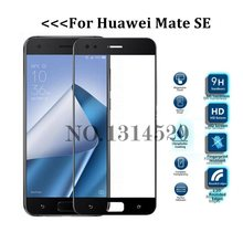 For Huawei Mate SE 0.3MM 2.5D Silk Printing Full Coverage Screen Tempered Glass Screen Protector Anti Scratch Film(China)