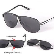 Pilot Sun Reader бифокальные очки для чтения солнцезащитные очки es для мужчин и женщин унисекс диоптрия для чтения Oculos Gafas De Lectura+ 1,0~ 3,5