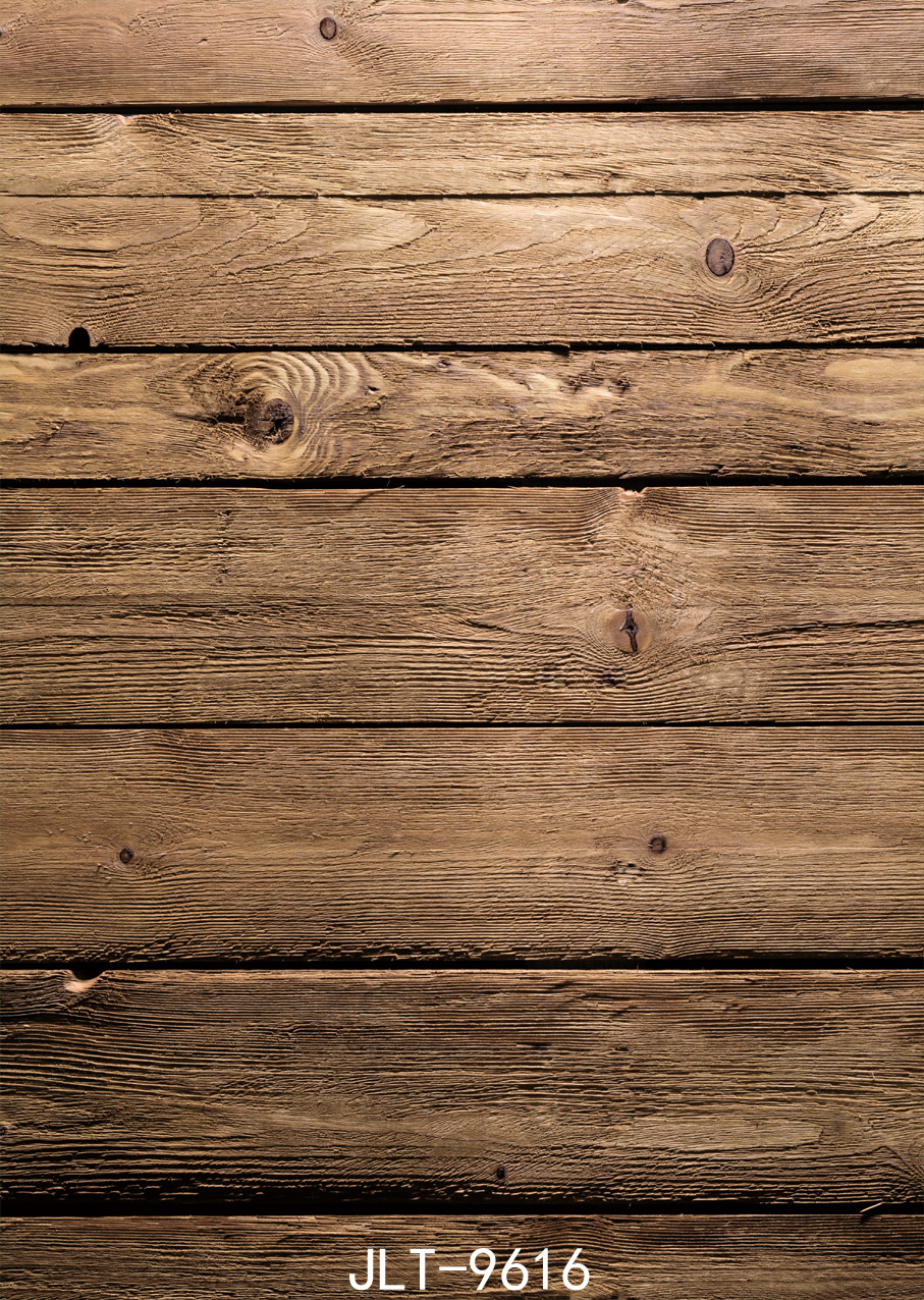 5x7ft Vintage Wooden Plank Wall Costume Wedding Custom