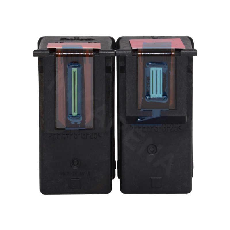 INKARENA remanufacturados reemplazo de cartucho de tinta para HP 61XL 61 Deskjet serie 1050, 2050, 1055, 3054 3050A 3052A 2512 impresora de recarga
