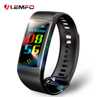 LEMFO Wristbands Smart Band Color LCD Screen Fitness Bracelet IP67 Waterproof Smart Band Heart Rate For