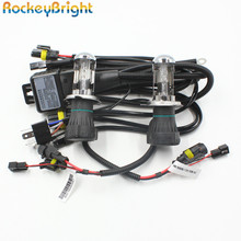 Rockeybright 35W H4 Bi-xenon headlamp bulbs+9003 H4-3 xenon bulb relay harness controller car H4 bi xenon headlight wire harness