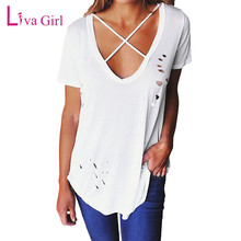 2592881b85bbe Buy top summer neckline woman and get free shipping on AliExpress.com