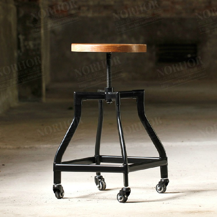 Specials do the old wrought iron pulley lift bar stool bar stool bar stool wood bar tables and chairs rotating chair