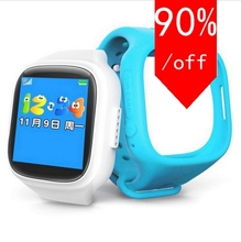 New Smart Phone Watch Children Kid Wristwatch GSM GPRS GPS Locator Tracker Anti-Lost Smartwatch Child Guard for iOS Android