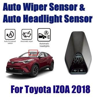 Capteurs d'essuie-glace de pluie automatique de voiture et capteur de phare pour Toyota IZOA 2018 ~ 2019 système Assistant de conduite automatique intelligent