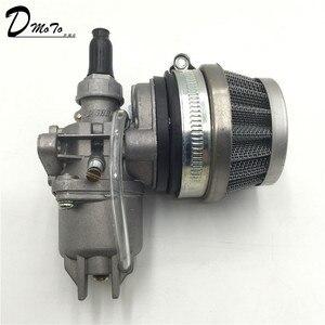 Image 5 - Pocket Bike 47cc 49cc engine carb carburetor with Pod Air Filter  2 stroke for Mini Quad ATV Dirt Bike MiniMoto Go Kart Buggy