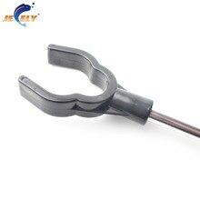 Free Shipping high quality fishing aluminum bank sticks for carp fishing tackle (60-100cm)