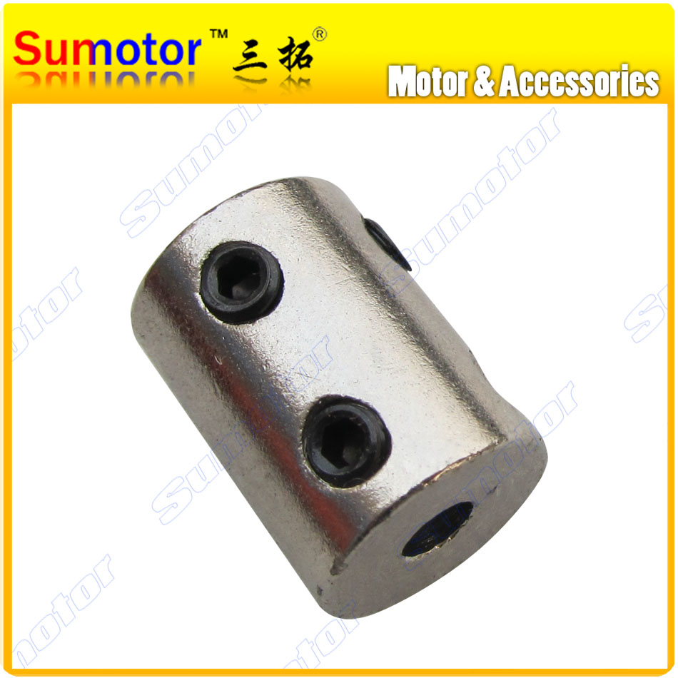 все цены на Rigid Steel coupling inner bore diameter 5mm 6mm 7mm 8mm 10mm 12mm Stable Cluth Motor shaft connecting Connect shaft coupler онлайн