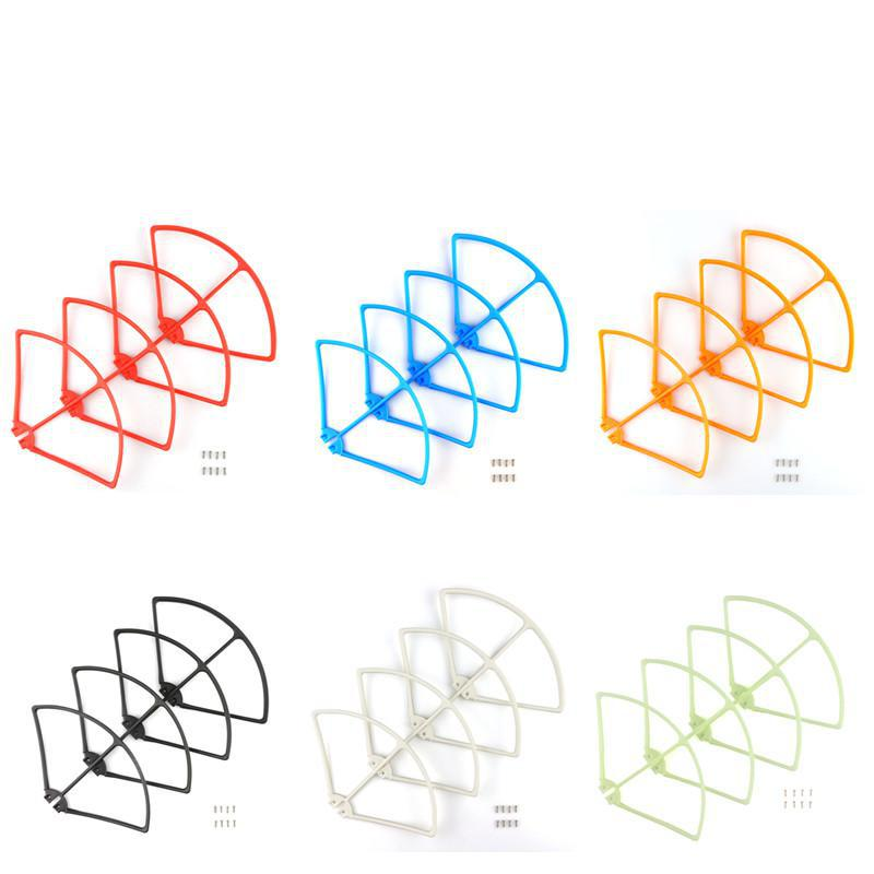Colorful Propellers Protection For Syma X8c X8w X8g X8hg X8hw Rc Quadcopter Blade Frame Parts Drones Spare Parts for syma x8c x8w rc quadcopter spare part blade propeller protection frame protector bumper 4pcs free shipping