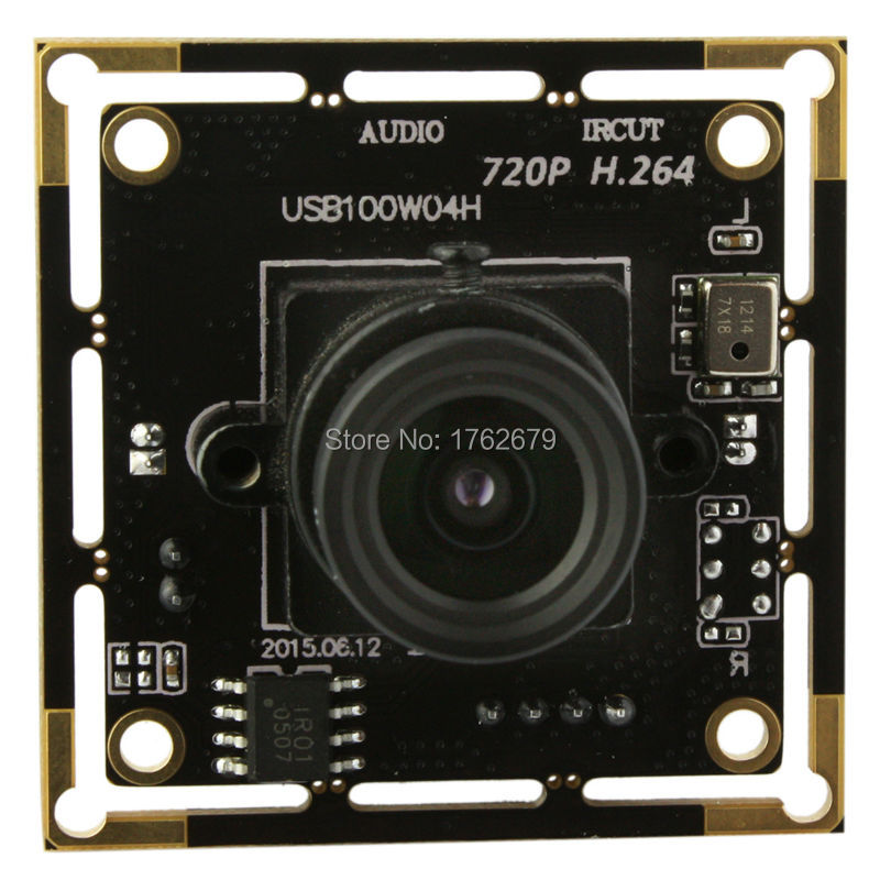 H.264 30fps 1280x 720 Linux Android Mac Windows UVC free driver cmos board module oem usb video camera with microphone