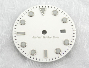 Image 5 - 28.5/31.5mm Black/Blue/Green/White Dial Sterile Fit Mingzhu 2813/3804 Movement Mens Watch Accessory