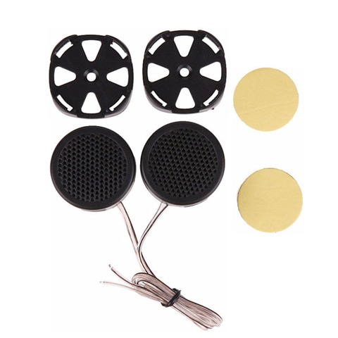 AOSHIKE 2Pcs  4ohm 40W  Mini Audio Potable Music Car Speakers Buzzer Tweeter Treble Speakers DIY For Home Theater Sound System Islamabad