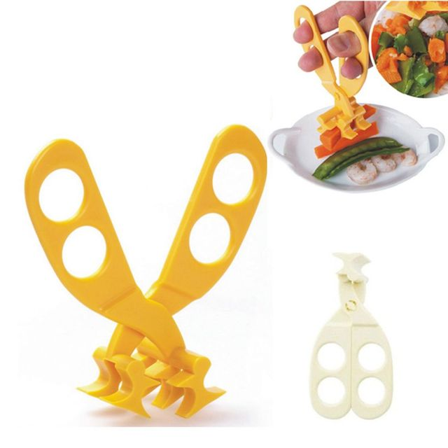 Brand New High Quality Mothers and Babies Supplies Food Grade Baby Food Scissors Baby Feeding Helper Kitchen Shears Dinnerware