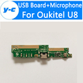 Oukitel U8 Mic+Mainboard 100% New Original USB Main Board + Microphone Replacement For Oukitel U8 Smart phone -Free Shipping