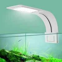 Супер тонкий светодиодный светильник для аквариума, освещение для растений 5 Вт/10 Вт/15 Вт, освещение для водных растений, водонепроницаемая ...