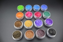 16pcs Mica Pigment Powder ~Eye Shadow Set Organic Beauty Minerals Vegan All Natural Hand Crafted Eyes Lips Nail Art, Pigments все цены