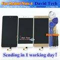 Pantalla lcd + asamblea de pantalla táctil digitalizador de alta calidad para xiaomi redmi note 4 hongmi nota 4 teléfono móvil con herramientas libres
