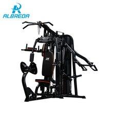 ALBREDA 새로운 통합 트레이너 홈 운동을위한 피트니스 장비 세 역 다기능 머신 바디 근육 트레이닝