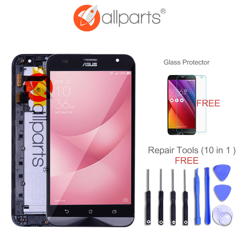 ORIGINAL Display For ASUS Zenfone 2 Laser ZE550KL LCD Display Touch Screen with Frame Replacement Parts For ZE550KL LCD
