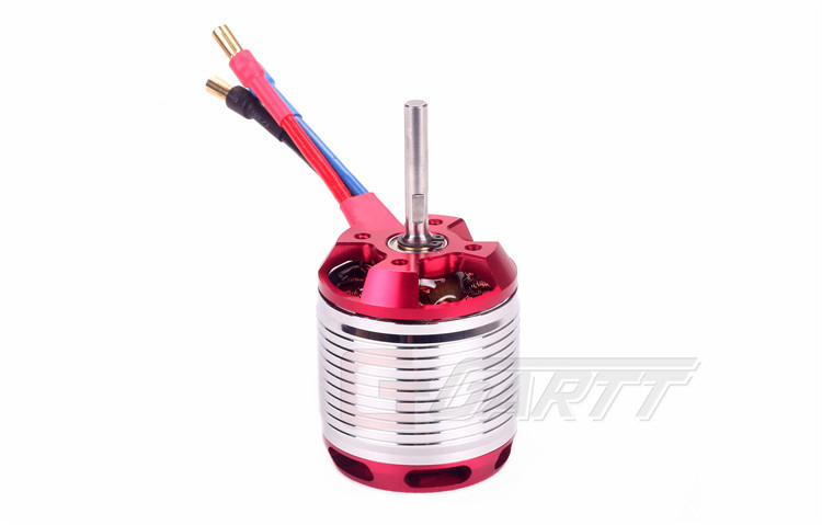 GARTT HF 530KV 4500W Brushless Red Color Motor For 700 Align Trex RC Helicopter gartt helicopter parts 3600kv 210 w brushless motor for 250 align trex rc helicopter red