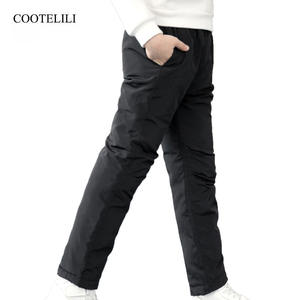COOTELILI Boy Winter Cotton Trousers Pants