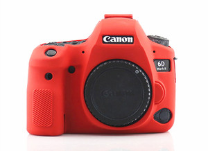 Image 2 - Silicone Armor Skin Case Body Cover Protector for Canon EOS 6D Mark II 2 6DM2 6D2 DSLR Camera ONLY
