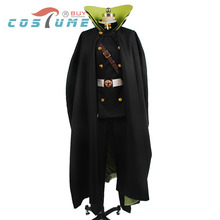 Seraph of the End Yuichiro Hyakuya Men Women Uniform Outfit Shirt Jacket Pants Cloak Anime Halloween Cosplay Costume New Arrival