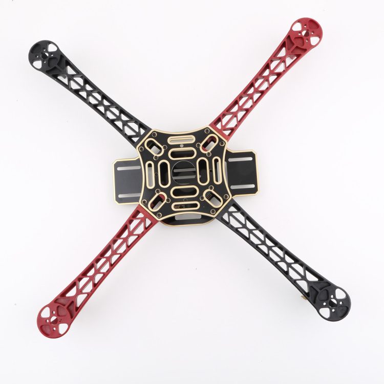 OCDAY RC plane F450 Multi Rotor Air Frame Flamewheel Kit 450f As for Kk Mk Mwc 4 Axis Rc Multicopter Quadcopter Ufo Heli folding s 1200 rotor shaft professional grade uav rack shaft large frame for 8 axis rc airplane plane