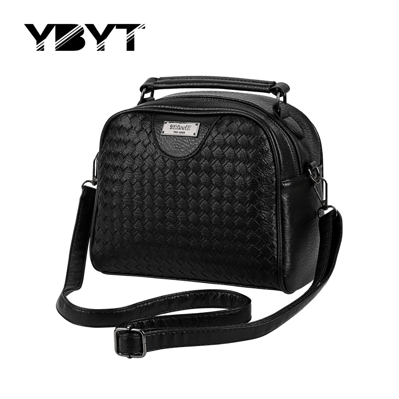 YBYT brand 2017 new knitting doctor handbags high quality women evening pack fashion joker lady shoulder messenger crossbody bag