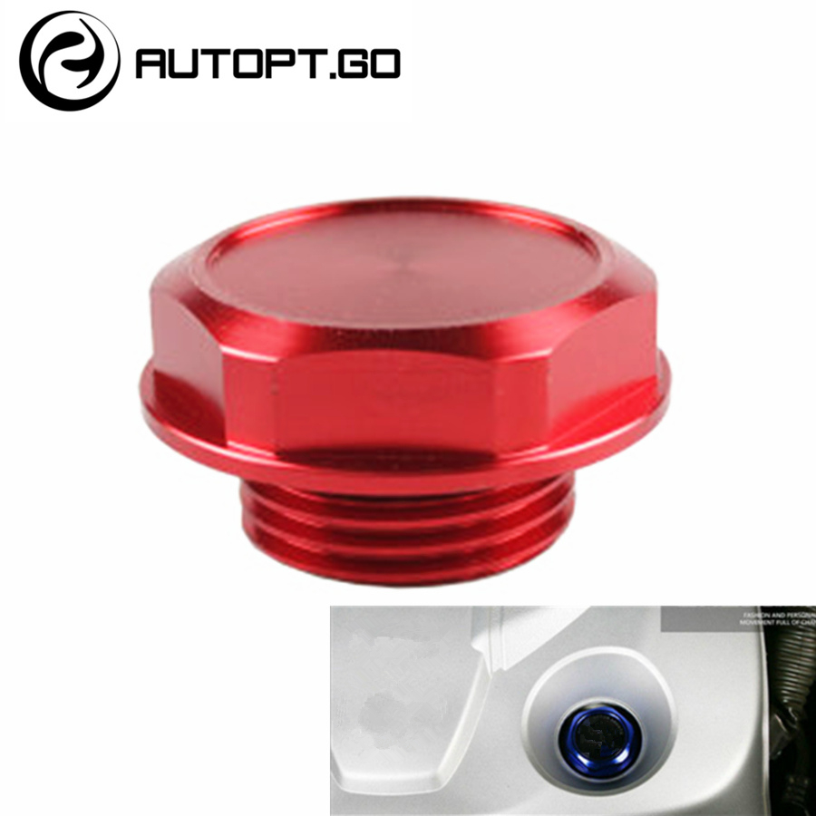 New arrived Aluminum Car Racing Engine Tank Valve Cover Oil Filler Cap For Toyota TRD Camry Corolla Rav4 Highlander Yaris Prado