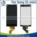 1 unids original para sony xperia z1 compact mini pantalla lcd con pantalla táctil digitalizador asamblea
