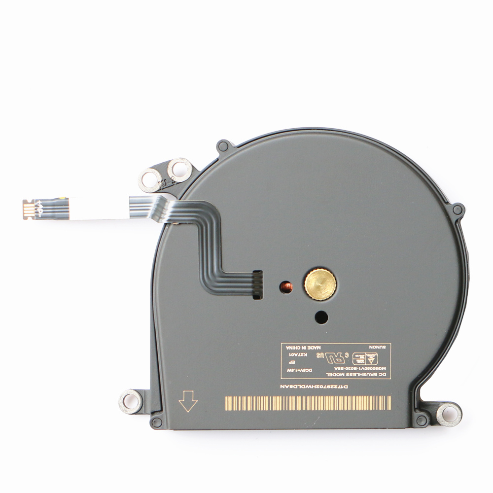 New MG50050V1-B030-S9A Cpu Fan For Apple Macbook Air A1370 A1465 MC503 MC504 MC505 MC506 MC968 MD233 Cpu Cooling Fan