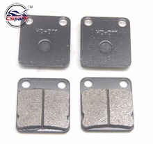 2 Pairs Brake Pads 41mm x 45mm for 50cc 70cc 90cc 110cc 125cc 140cc 150cc 160cc Pit Dirt Bike ATV Quad Motorcycle Scooter
