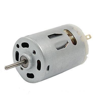 El más nuevo Motor 12V 10000RPM 57mm 0.13A Mini DC para coches eléctricos o Juguetes DIY Hobby Motor de bicicleta eléctrica y electrodomésticos