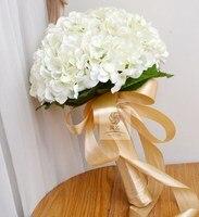 Düğün çiçek yapay çiçek gelinlik gelin çiçek tutan kartopu bountyless renkli