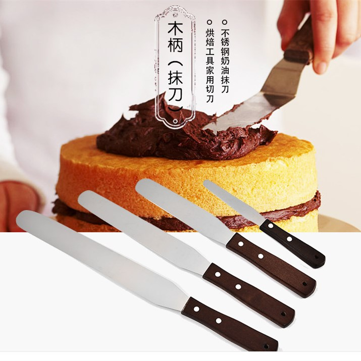Knife Butter-Cream Cake-Decoration-Tools Cake-Spatula Frosting Icing Kitchen Pastry Stainless-Steel