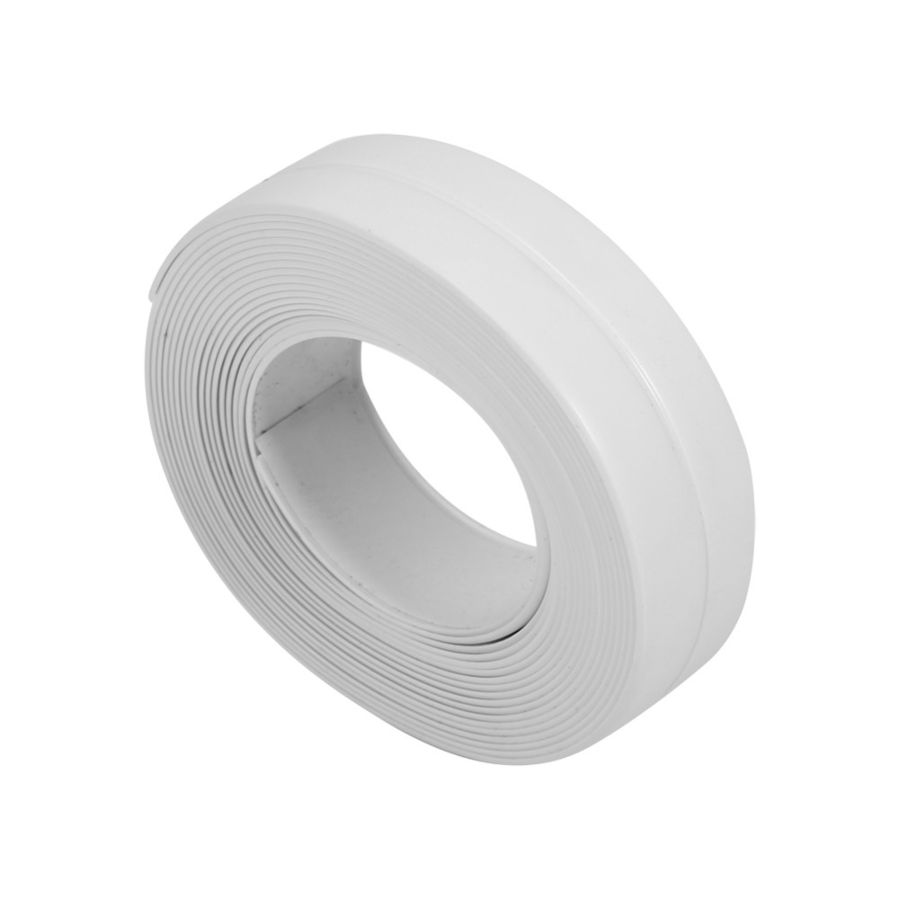 1 Roll Pvc Bath Wall Sealing Strip Self Adhesive Kitchen
