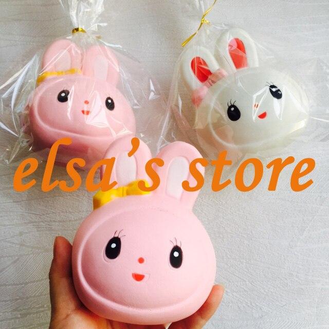 imágenes para Squishies 10 unids jumpo rare blando lot kawaii conejo blando juguete aumento lento perfumado blando Envío Gratis