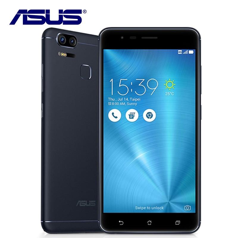 D'origine ASUS Zenfone 3 Zoom ZE553KL Octa Core 4 gb RAM 64 gb ROM Double SIM 3 Caméra 5000 mah d'empreintes Digitales Android 5.5 Téléphone Mobile